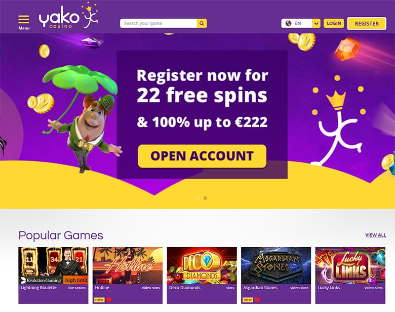 Yako Online Casino Review