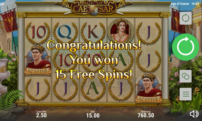 Age of Ceasar Slot