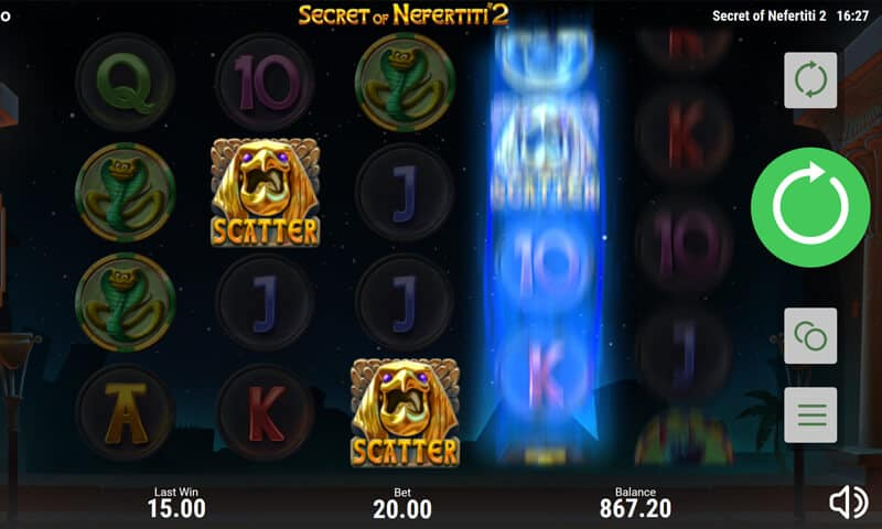 Secret of Nefertiti 2 Video Slot