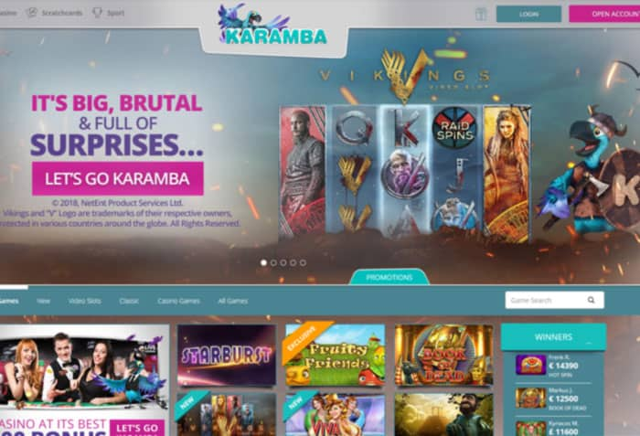 Karamba NZ Casino Review 2019 - 20 No Deposit Free Spins +