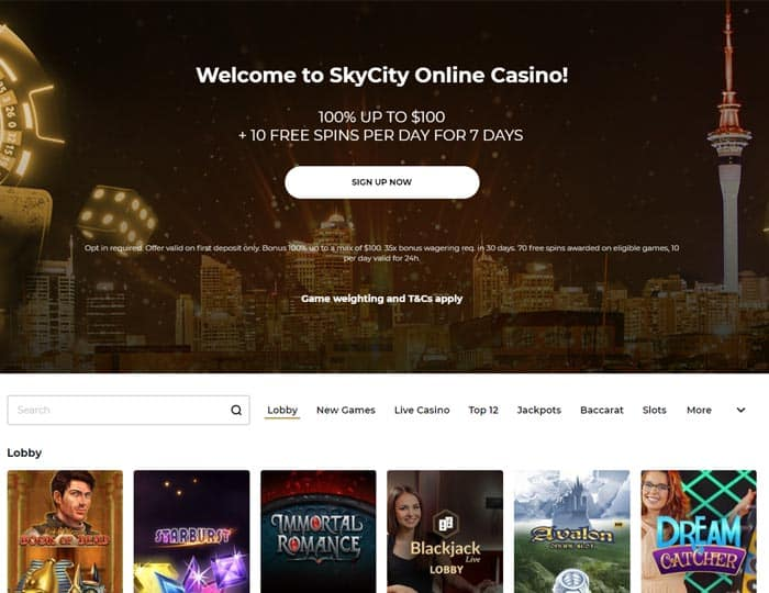 SkyCityCasino Review New Zealand