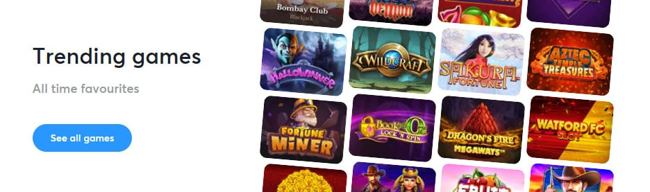 Bitcasino casino games