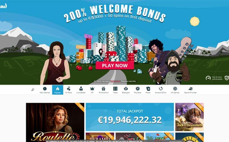 Spinland Casino No Deposit