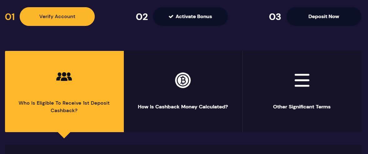 FortuneJack Cashback
