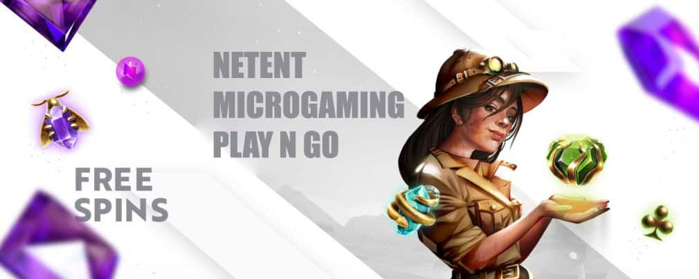Netent and Microgaming Free Spins
