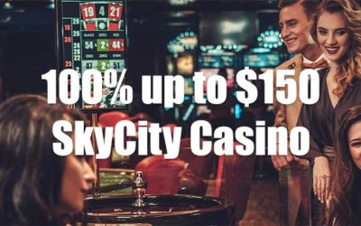 Get up to $150 Extra to Try Your Luck on Skycity Casino Live Tables