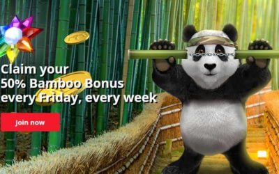 Start Your Weekend Right with Royal Panda Bamboo Bonus up to 5