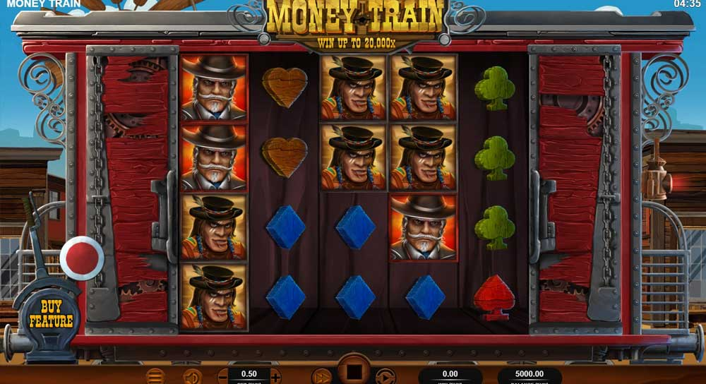 Money Train Red Time Gaming