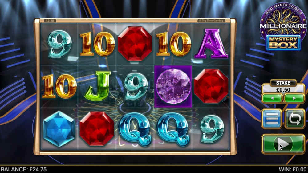 Big Time Gaming Millionaire Mystery Box Slot
