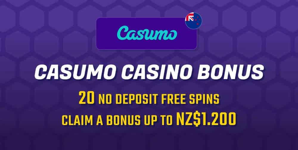 Casumo NZD1200 Casino Bonus