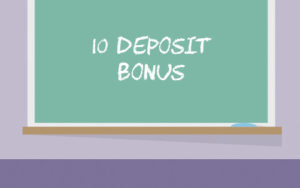 Deposit 10 Get Bonus Casinos